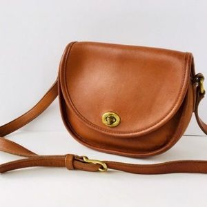 COACH Vintage Watson Crossbody BAG British Tan